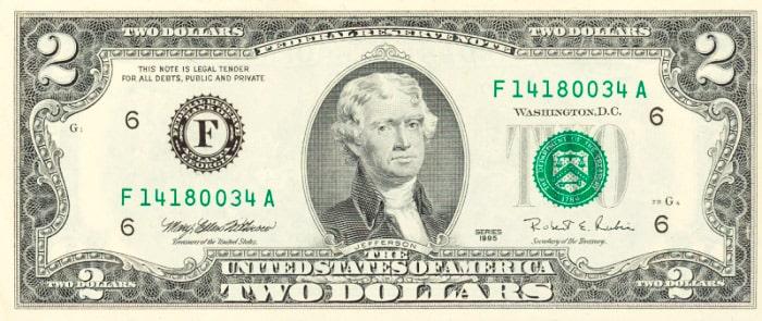 2-dollara