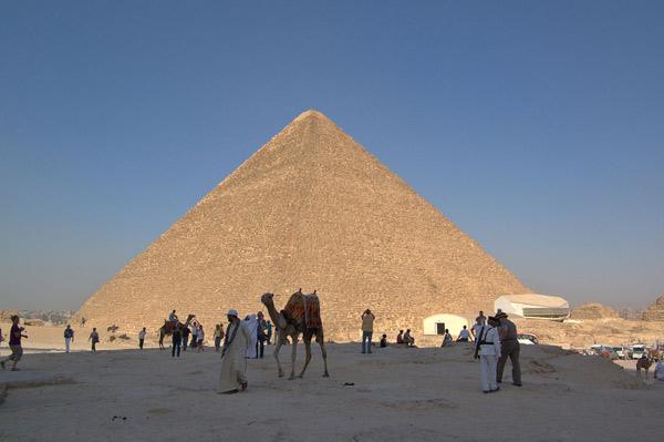 Семь чудес света Пирамида Хеопса (1)