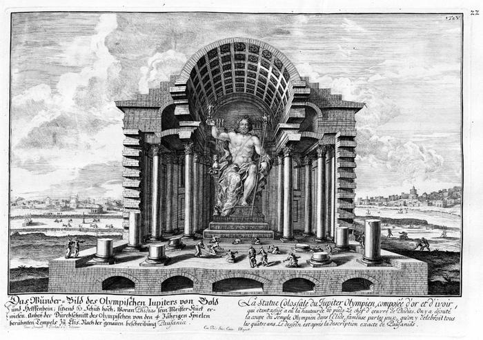 Семь чудес света Статуя Зевса в Олимпии (1)