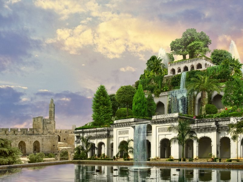 Вавилон висячие сады семирамиды реферат 5909