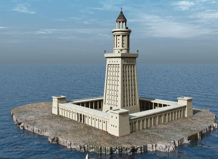 Семь чудес света Александрийский маяк (1)