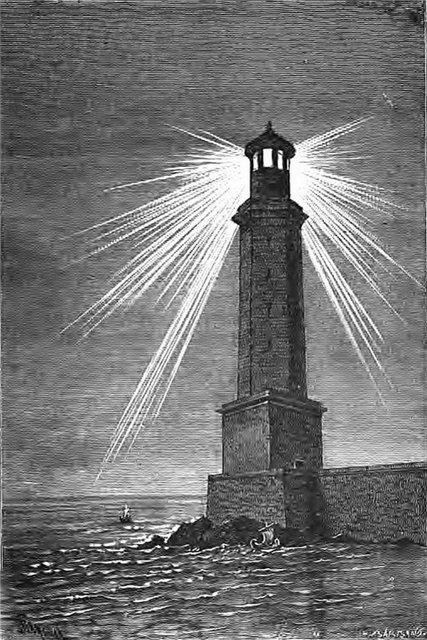 Семь чудес света Александрийский маяк (3)