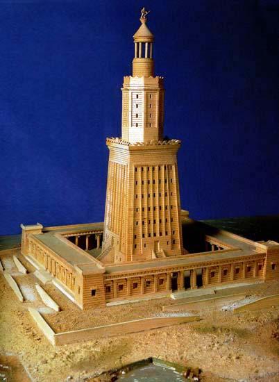 Семь чудес света Александрийский маяк (6)