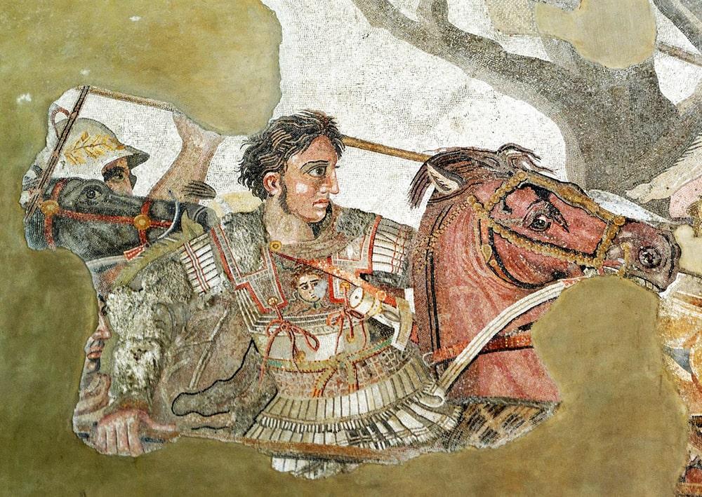 Aleksandr-Makedonskij-na-fragmente-drevnerimskoj-mozaiki-iz-Pompej