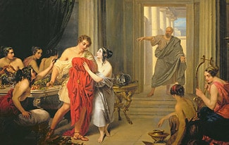 Алкивиад и его молодость