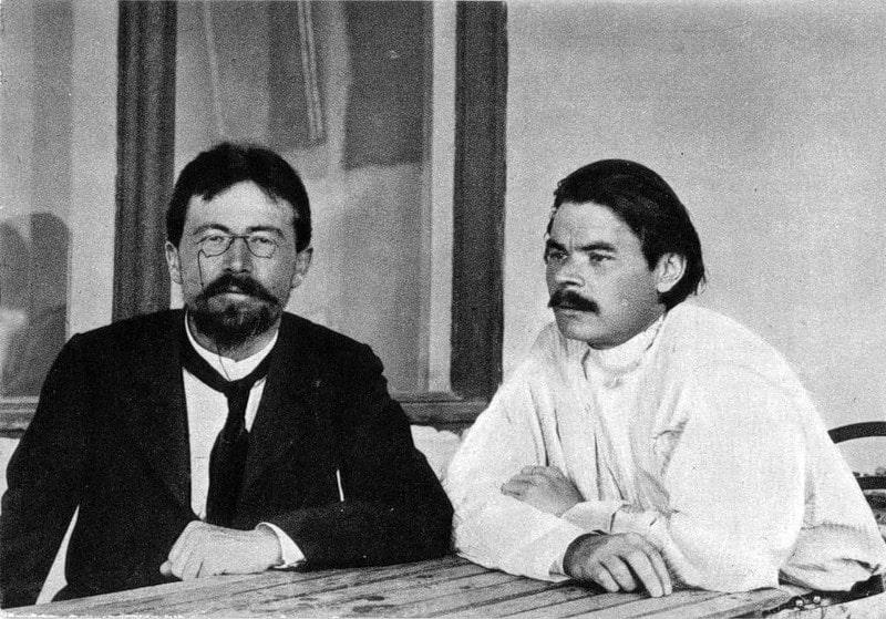 Anton-CHehov-s-Maksimom-Gorkim
