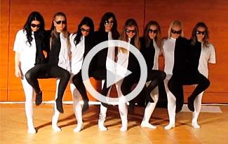 Беспощадная оптическая иллюзия: убойный танец