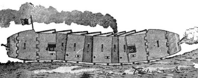 Bronepoezd-Bujena-Pervye-Tanki