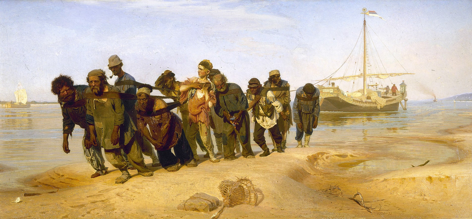 Burlaki-na-Volge.-1870-1873