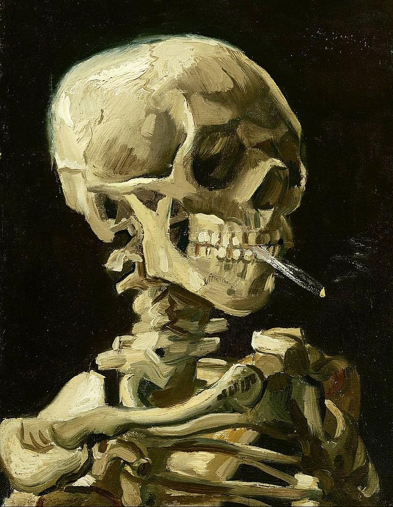CHerep-s-goryashhey-sigaretoy.-ok.-1885-1886
