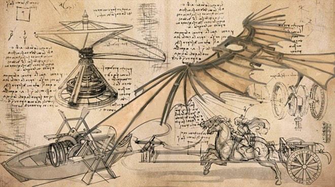 CHertezhi-i-nabroski-nekotoryih-izobreteniy-Leonardo-da-Vinchi