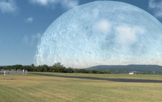 Если бы луна была ближе
