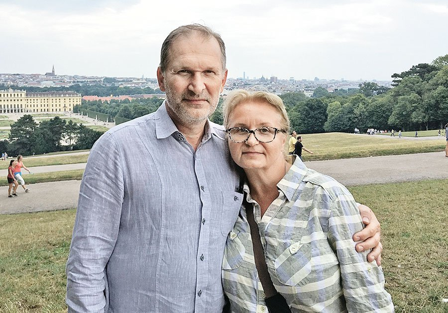 Fedor-Dobronravov-s-zhenoj