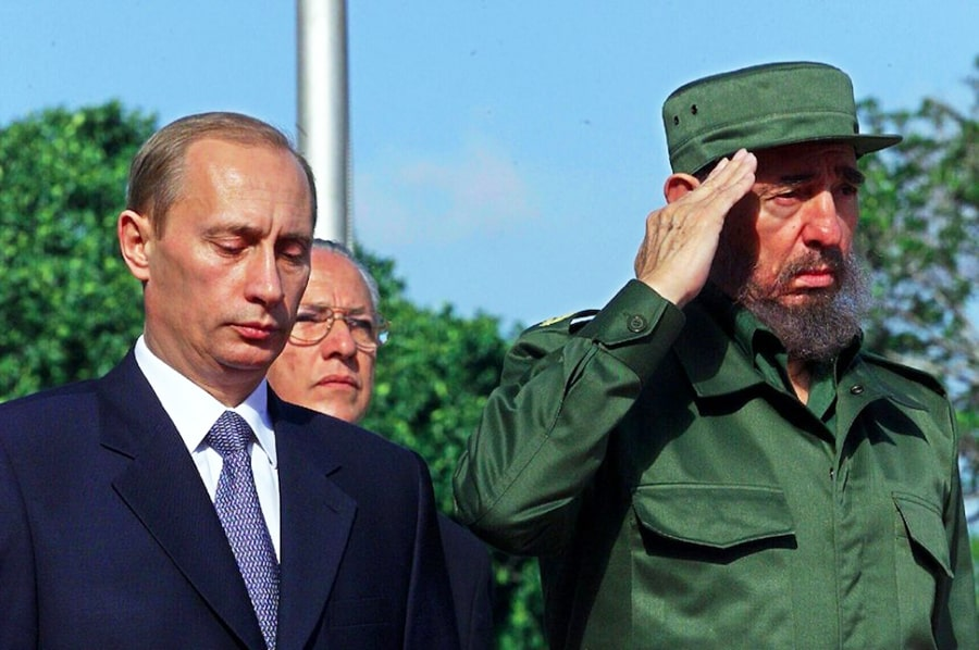 Fidel-Kastro-i-Vladimir-Putin