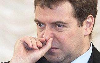 Редкие фото Медведева