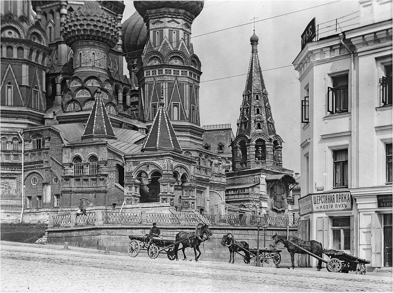 Foto-staroy-Moskvyi-Vasilevskiy-spusk
