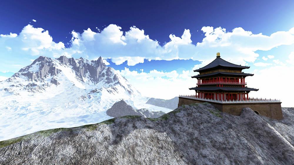 Gimalai-Tibet-Mesta-Sily