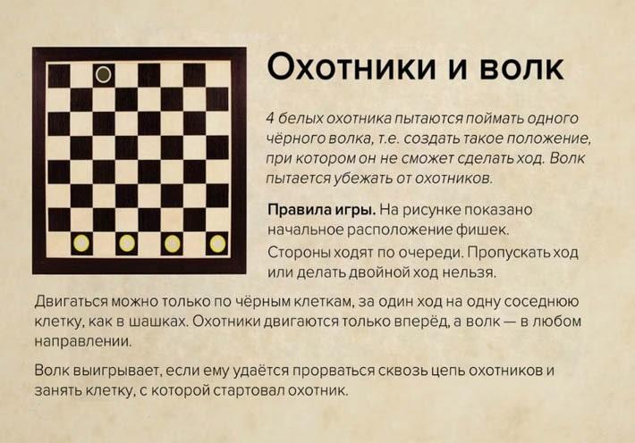 Igry-shashki-Ohotniki-i-volk