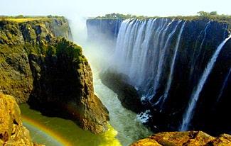 15 интересных фактов о водопаде Виктория