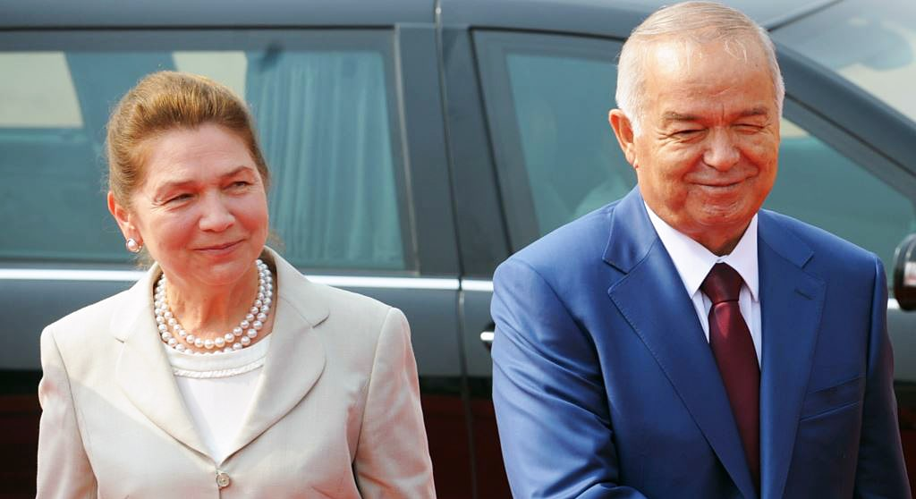 Islam-Karimov-s-zhenoy