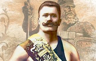 Русский богатырь Иван Поддубный