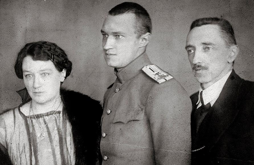 Ivan-SHmelev-s-zhenoy-i-syinom