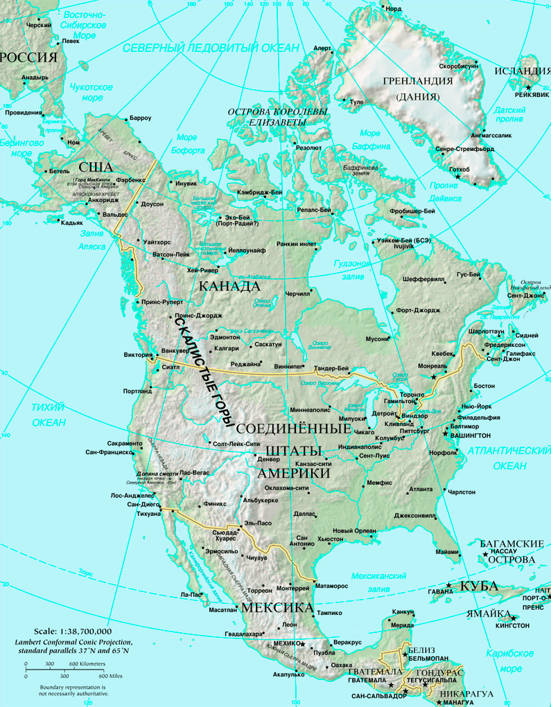 Karta-Severnoj-Ameriki-i-prilegayushhih-territorij