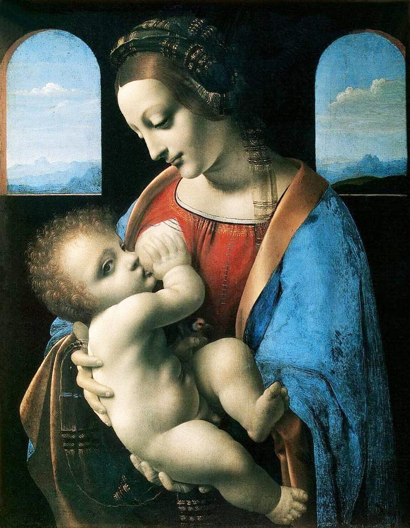 Kartinyi-Leonardo-da-Vinchi---Madonna-Litta