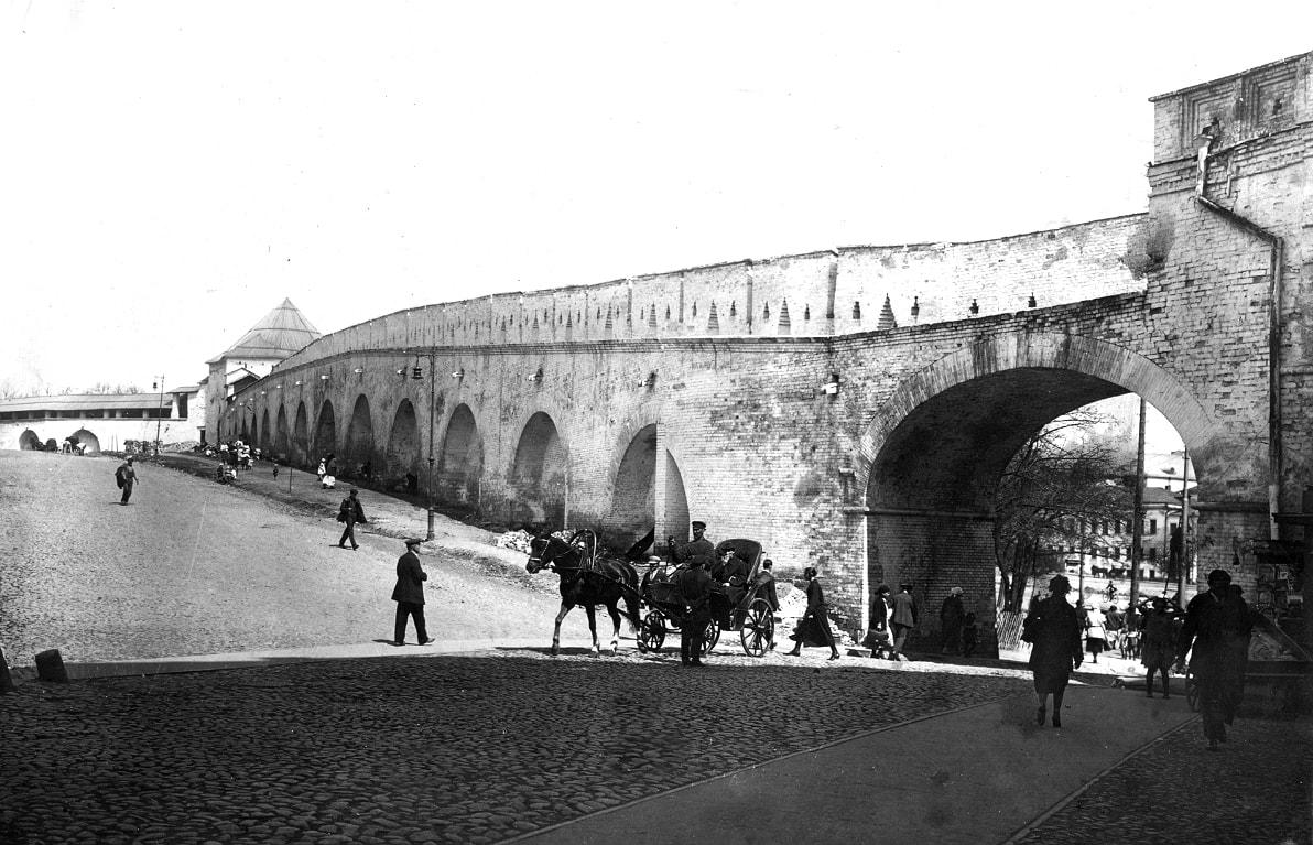 Kitaygorodskaya-stena-s-vnutrenney-storonyi-1926