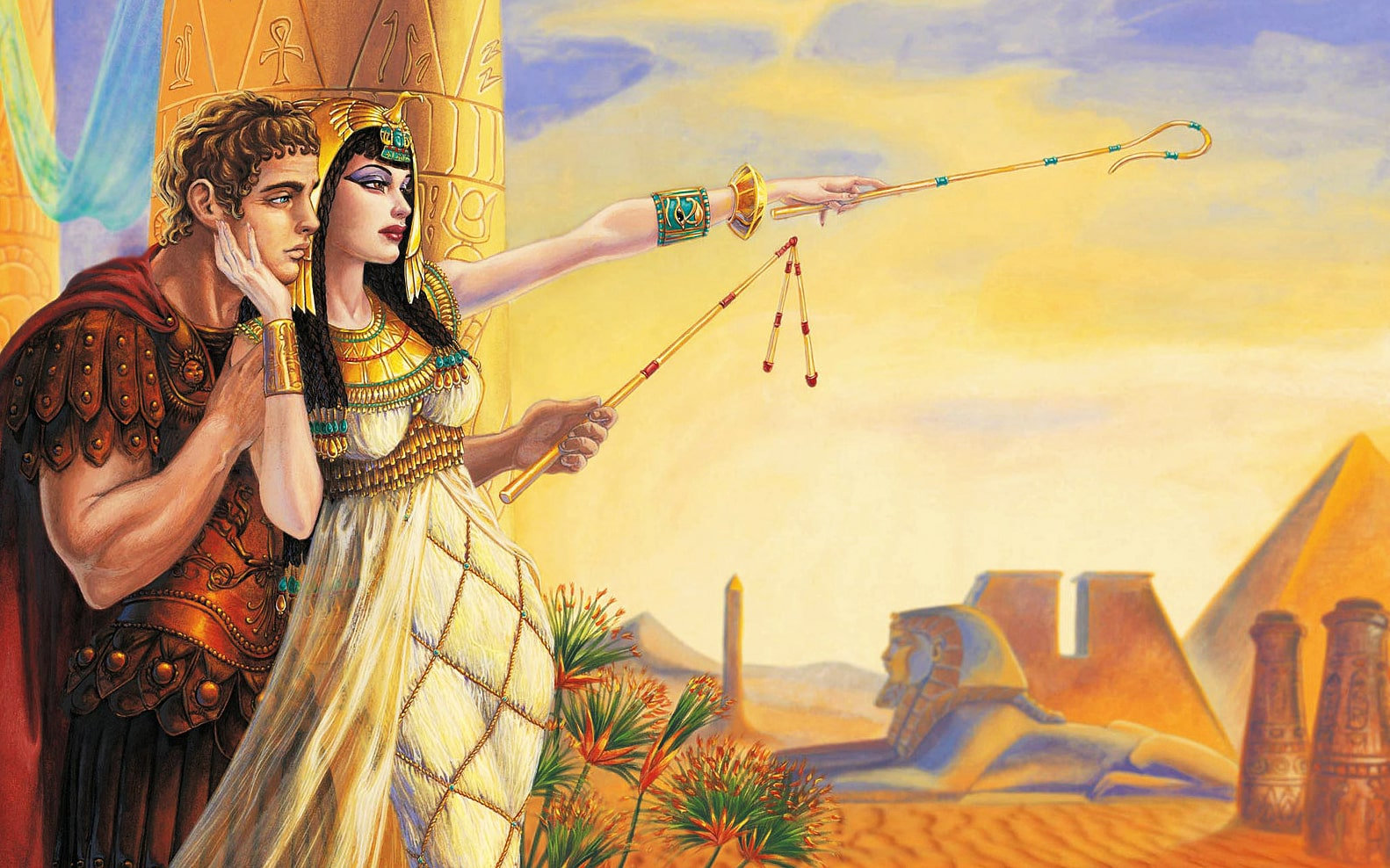 Kleopatra-i-YUliy-TSezar