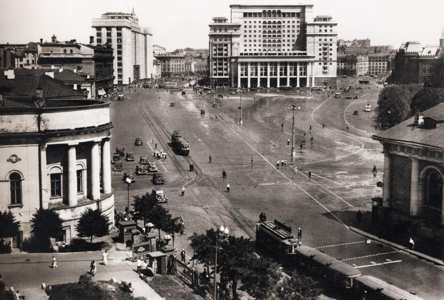 Manezhnaya-ploshhad.-1939