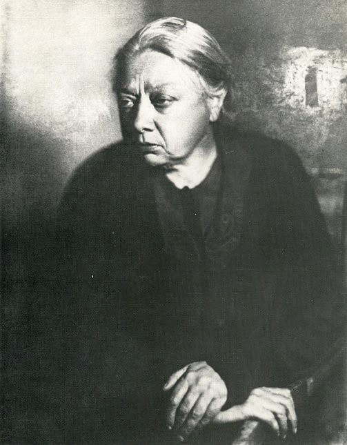Надежда Крупская с мужем Лениным