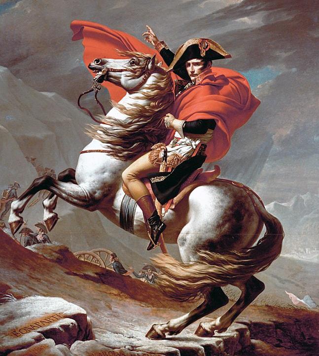 Napoleon-na-perevale-Sen-Bernar