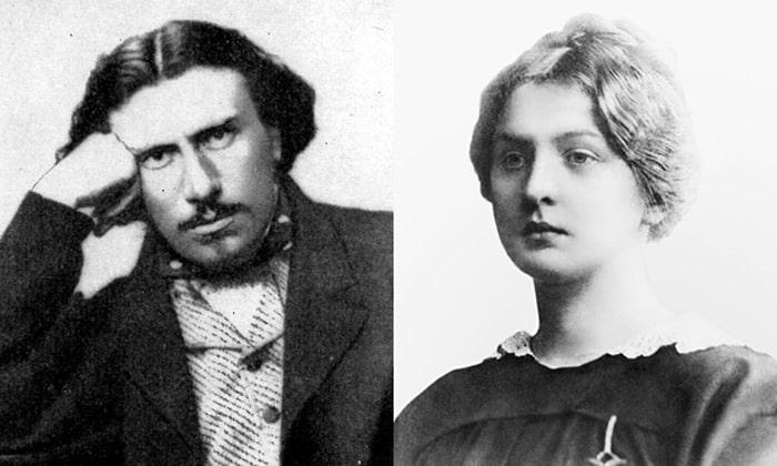 Nikolay-Leskov-i-ego-pervaya-zhena-Olga-Smirnova