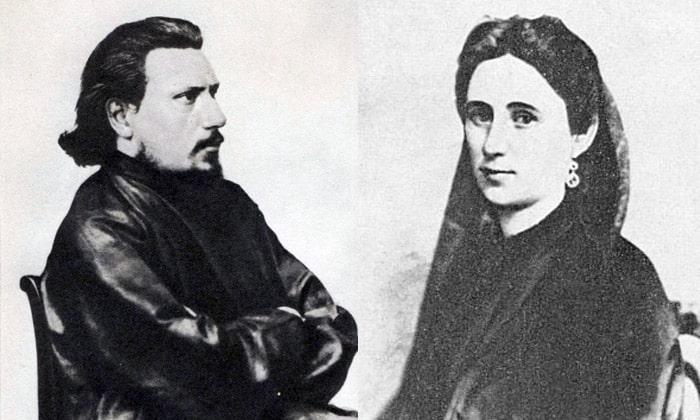 Nikolay-Leskov-i-ego-vtoraya-zhena-Ekaterina-Bubnova