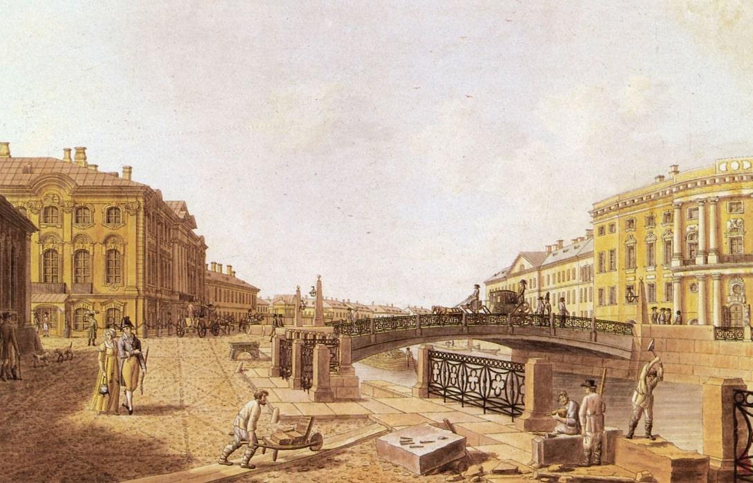 Politseyskiy-most-na-Nevskom-prospekte
