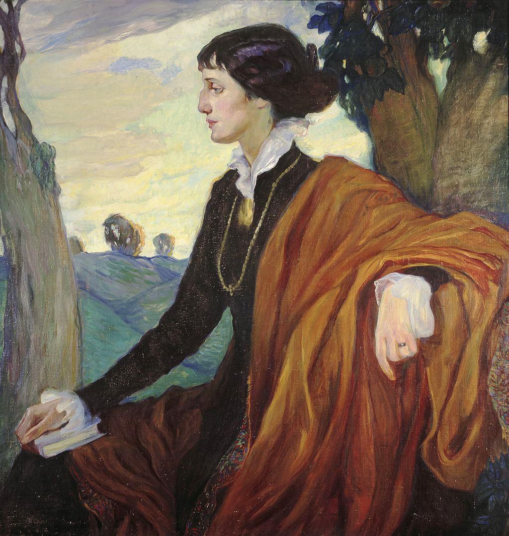 Portret-Ahmatovoy-rabotyi-Olgi-Kardovskoy-1914-god