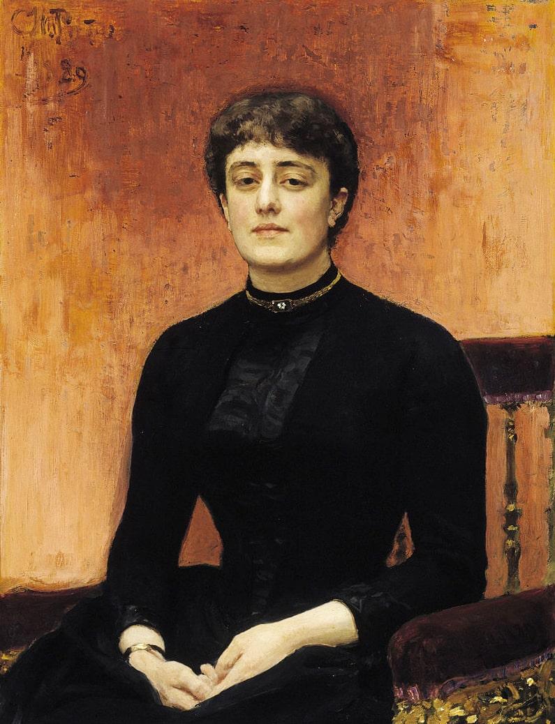 Portret-Elizavetyi-Zvantsevoy.-1889