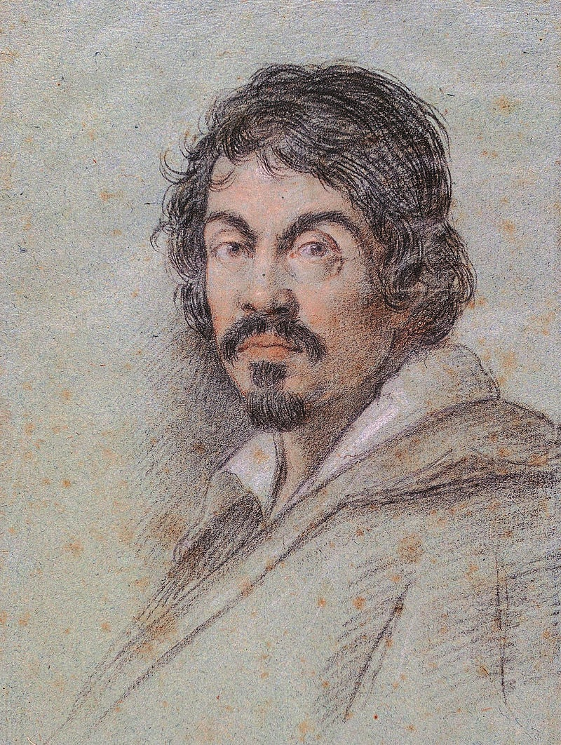 Portret-Karavadzho-rabotyi-Ottavio-Leoni-1621-god