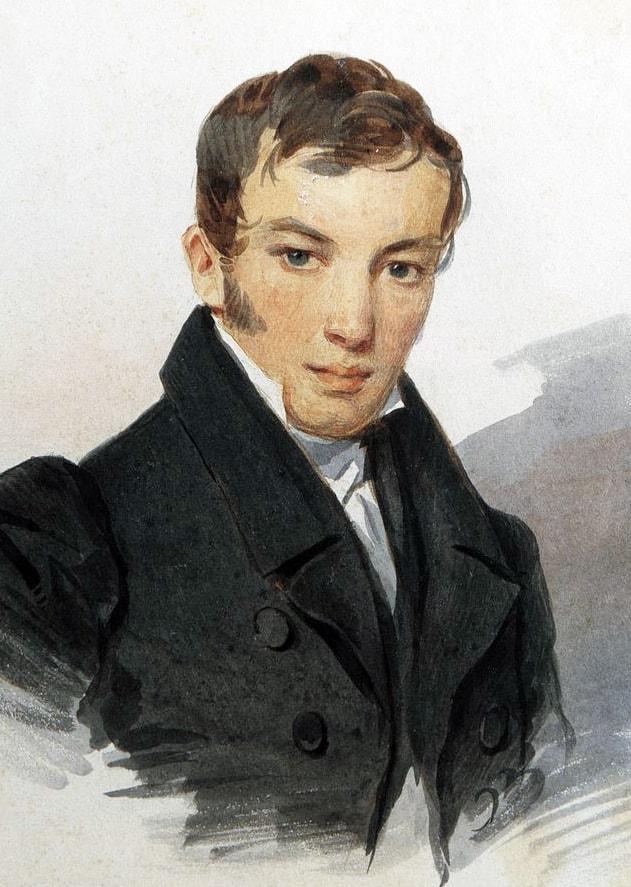Portret-V.-A.-ZHukovskogo