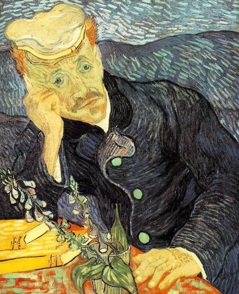 Portret-doktora-Gashe.-1890