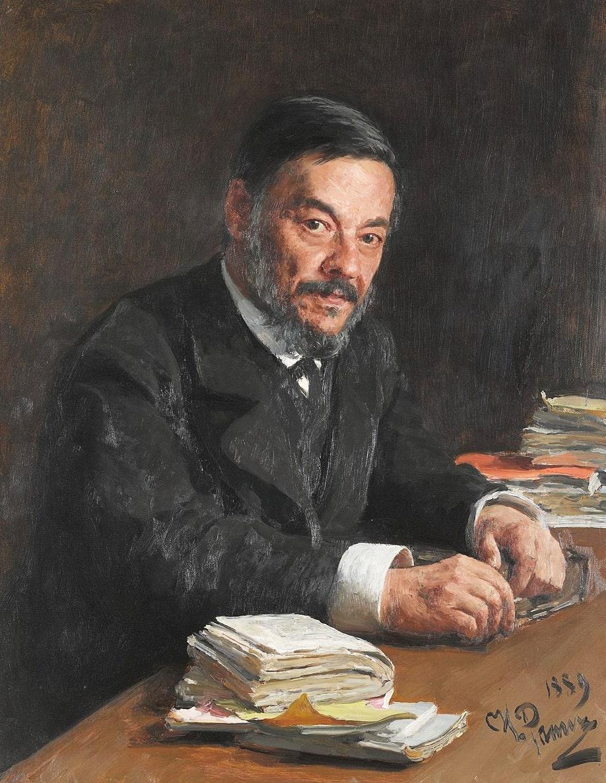 Portret-fiziologa-I.-M.-Sechenova.-1889
