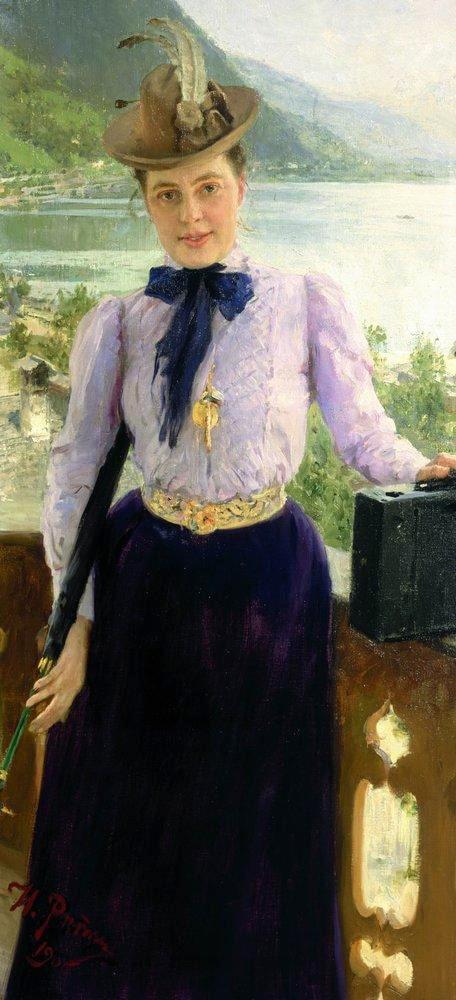 Portret-pisatelnitsyi-Natali-Nordman-Severovoy.-1900