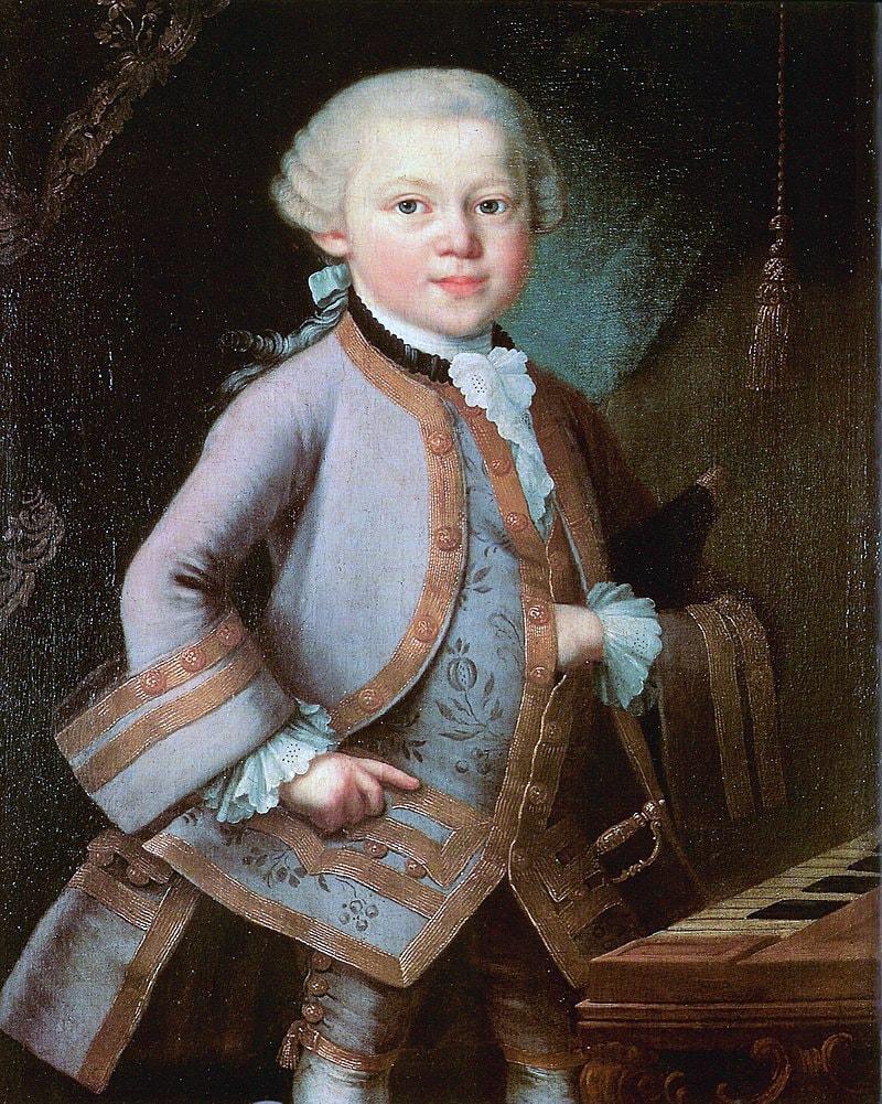 Portret-shestiletnego-Volfganga-v-kostyume-podarennom-imperatritsey-1763-god