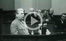 Последнее выступление Сталина
