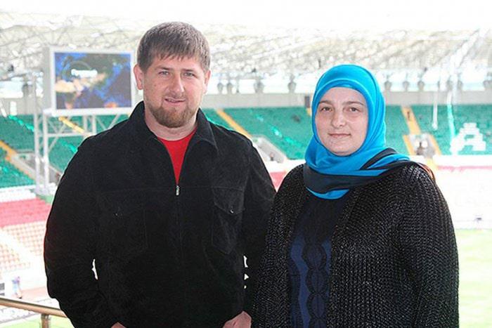 Ramzan-Kadyrov-s-zhenoj