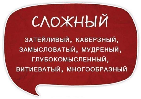 Razgovornyie-slova-sinonimyi-Slozhnyiy
