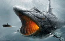 Самая большая подводная лодка: грозная «Акула»