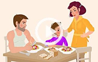 Семейные ценности за 1,5 минуты
