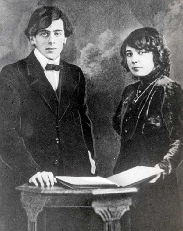 Sergey-E`fron-i-Marina-TSvetaeva-1911g